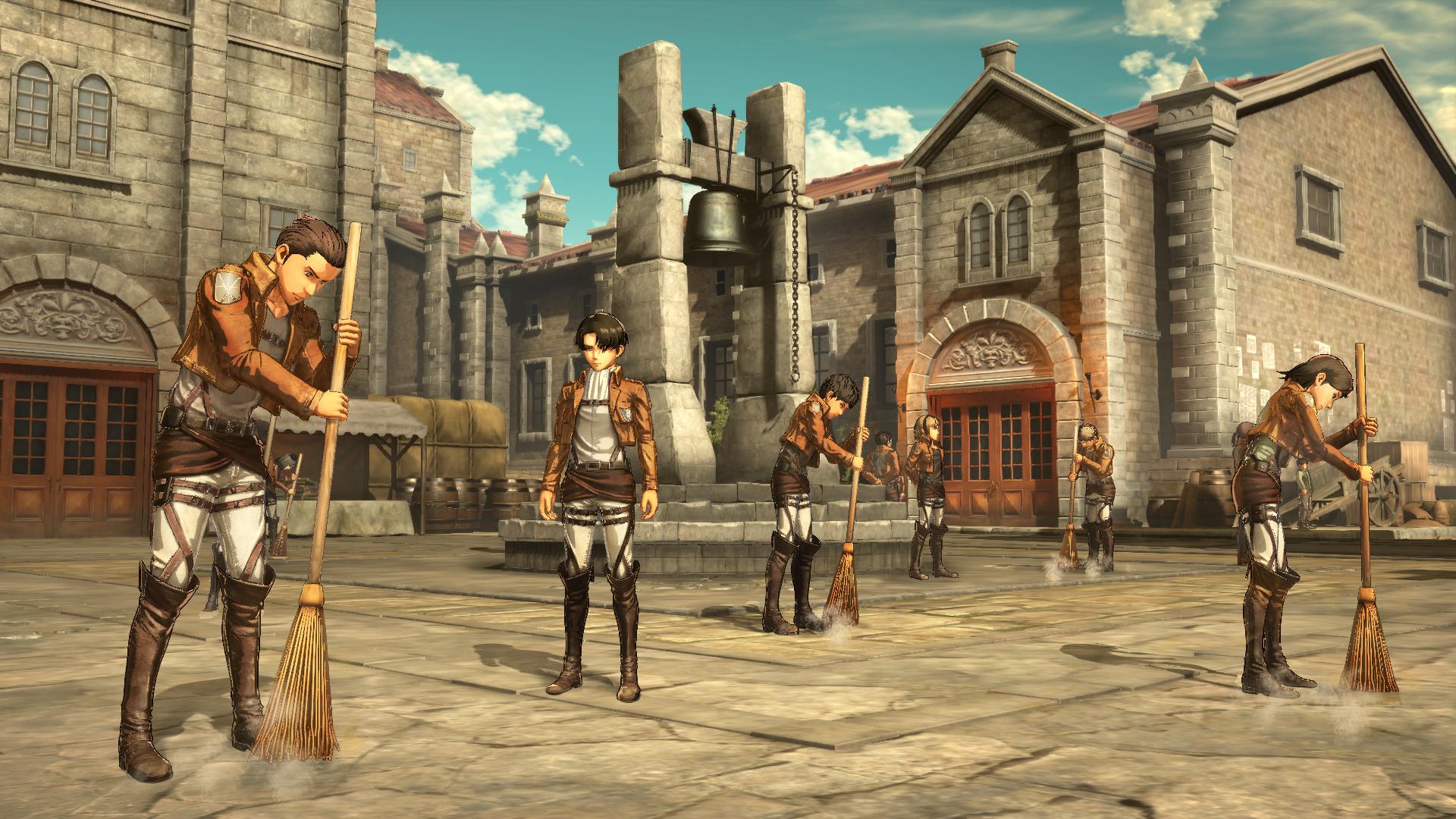 Proti nahatým obrům budete v Attack on Titan 2 bojovat v březnu 151732