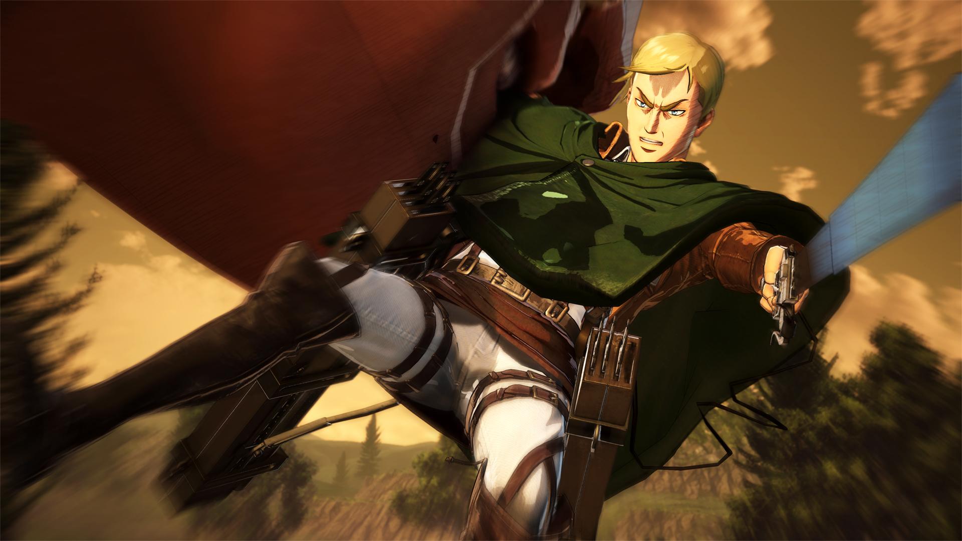 Proti nahatým obrům budete v Attack on Titan 2 bojovat v březnu 151735