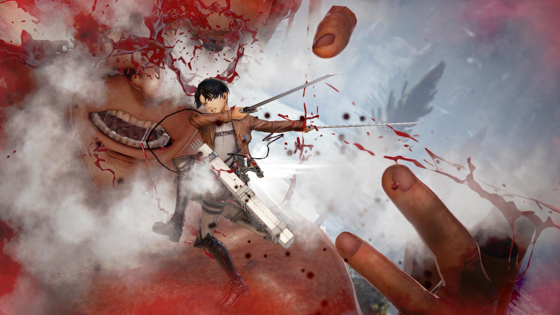 Proti nahatým obrům budete v Attack on Titan 2 bojovat v březnu 151738