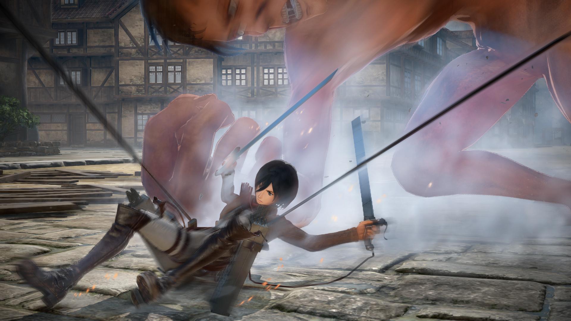 Proti nahatým obrům budete v Attack on Titan 2 bojovat v březnu 151741