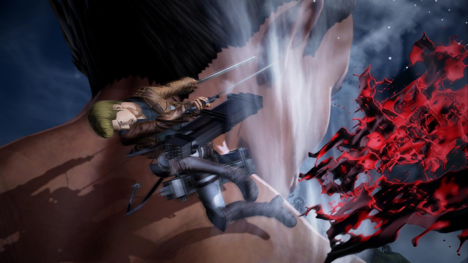 Proti nahatým obrům budete v Attack on Titan 2 bojovat v březnu 151743