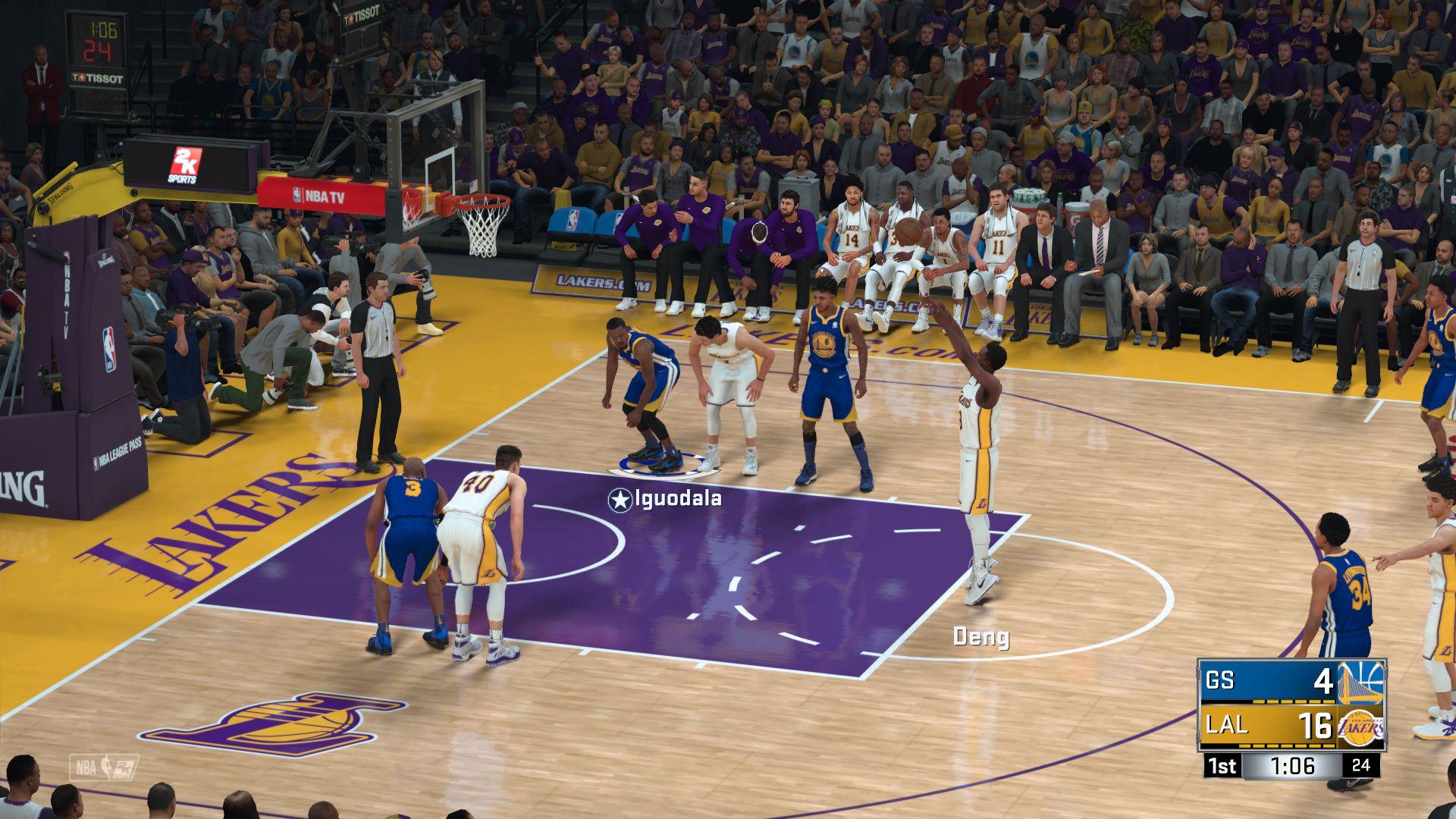 NBA 2K18 – basketbal s prvky MMO 151751