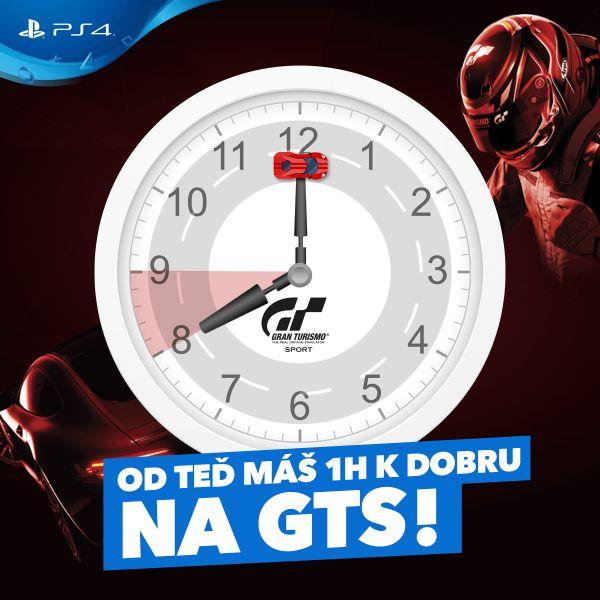 Od teď máš hodinu k dobru na Gran Turismo Sport 151800