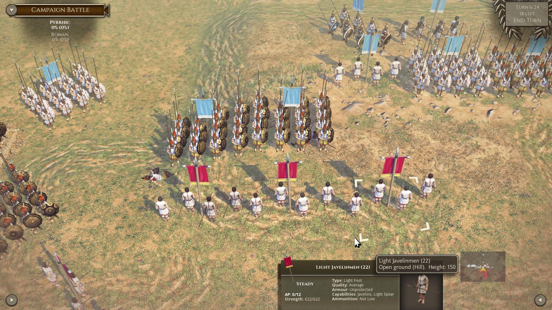 Field of Glory II – chyby neodpouštějící tahovka 151818
