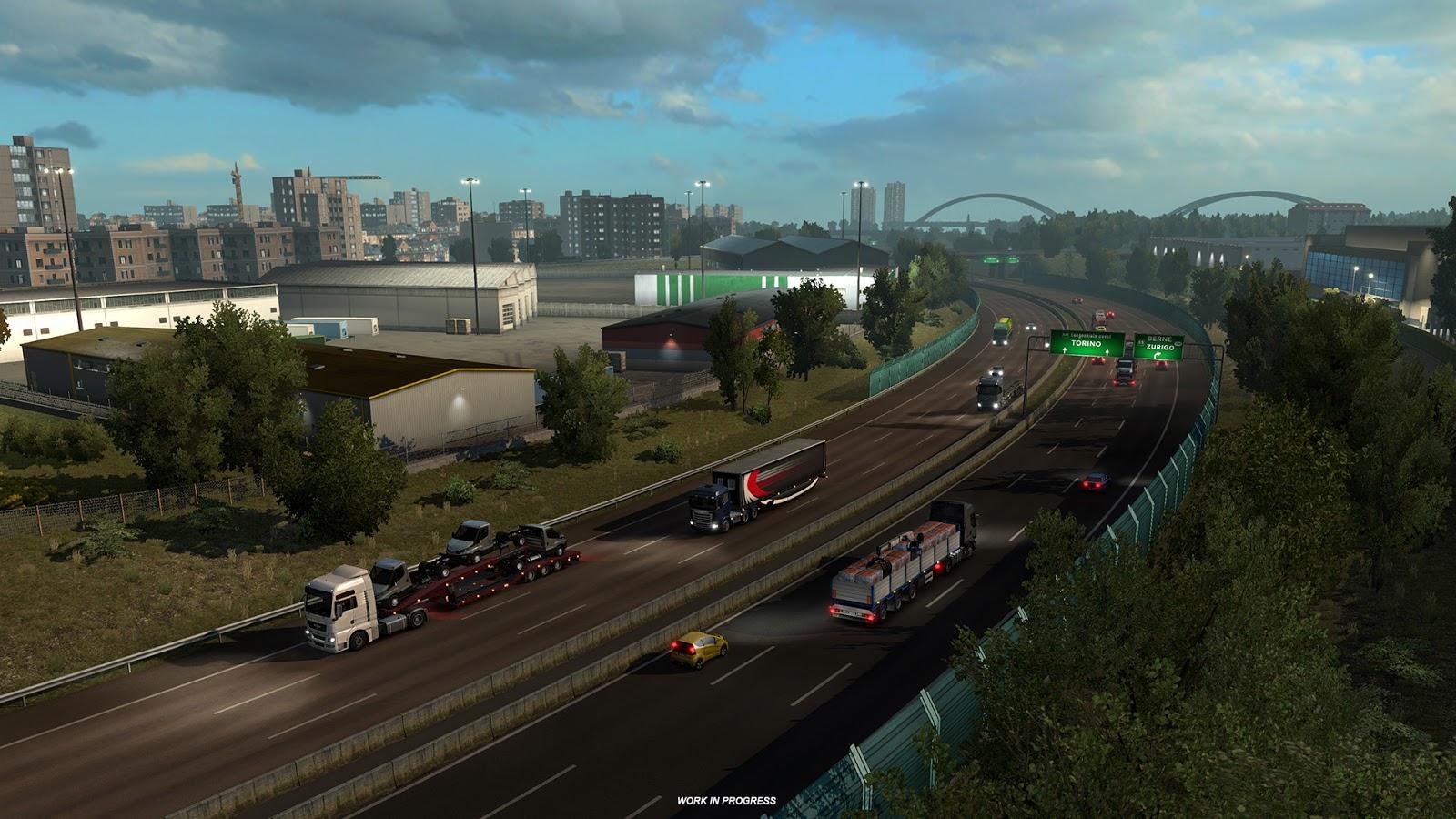 Obrazem: Itálie z Euro Truck Simulatoru 2 151827