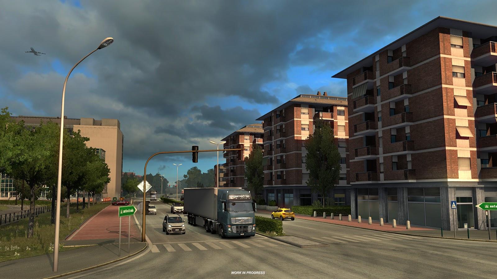 Obrazem: Itálie z Euro Truck Simulatoru 2 151828
