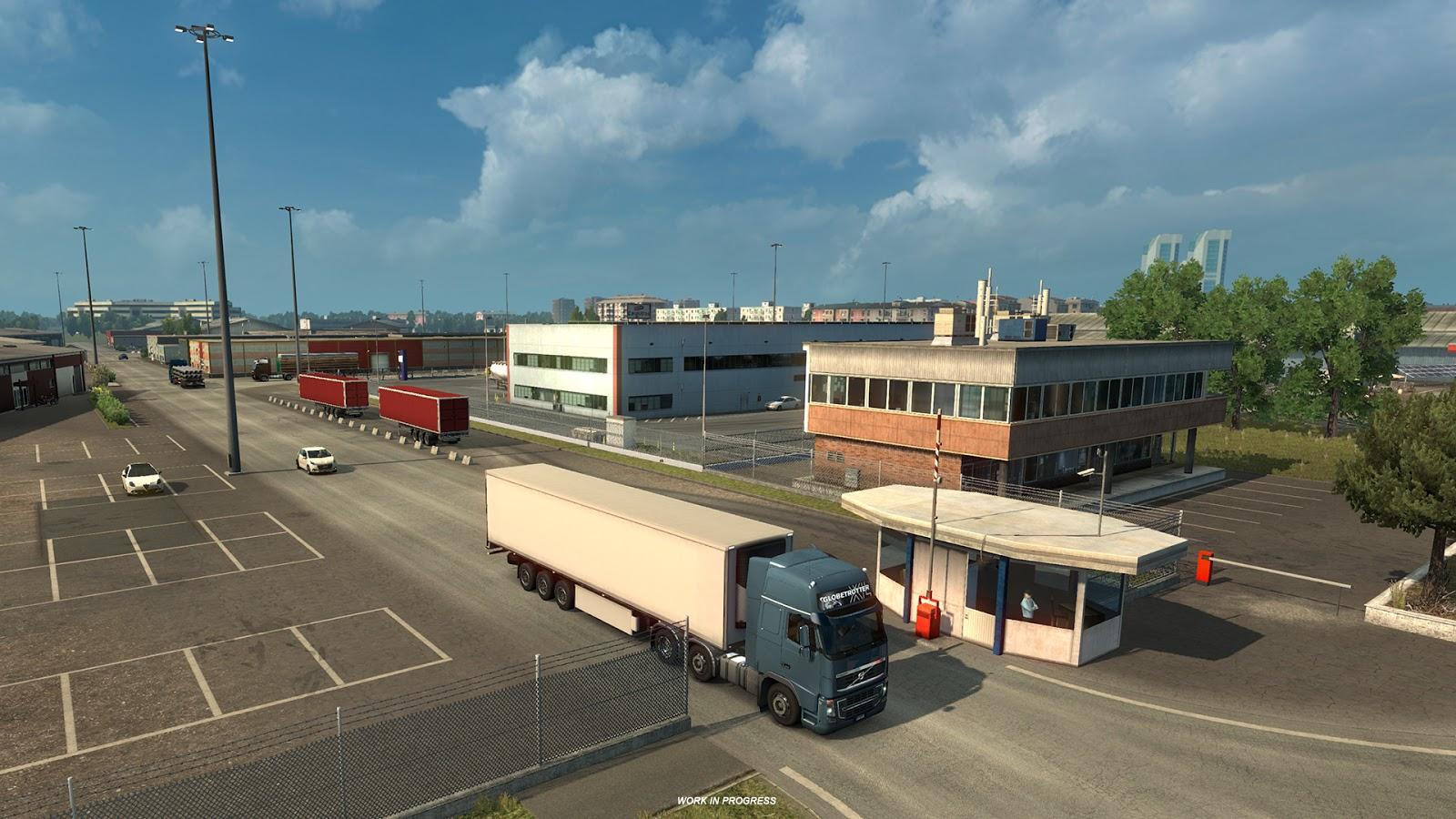 Obrazem: Itálie z Euro Truck Simulatoru 2 151829