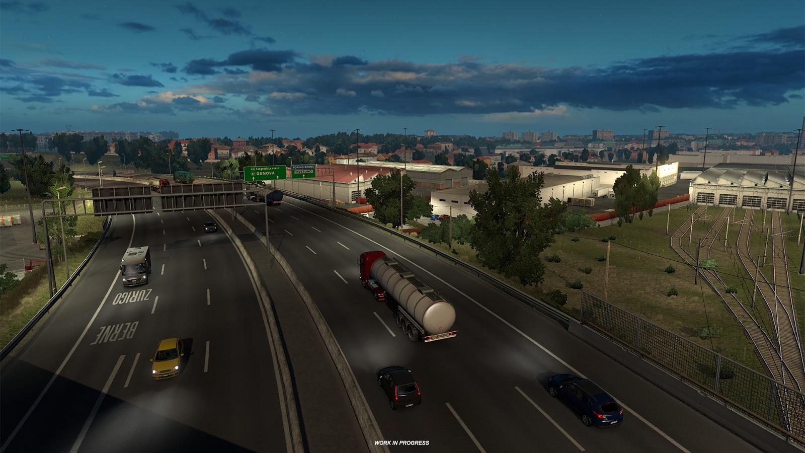 Obrazem: Itálie z Euro Truck Simulatoru 2 151831