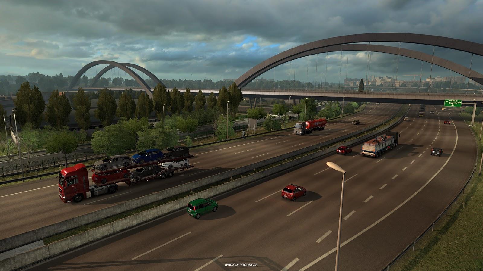 Obrazem: Itálie z Euro Truck Simulatoru 2 151833