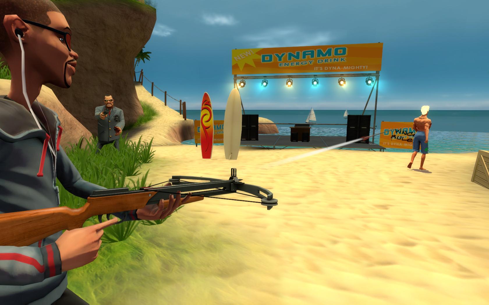 Multiplayerová FPS akce Bloody Good Time 15198