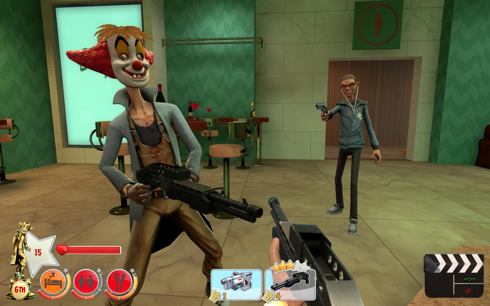 Multiplayerová FPS akce Bloody Good Time 15199