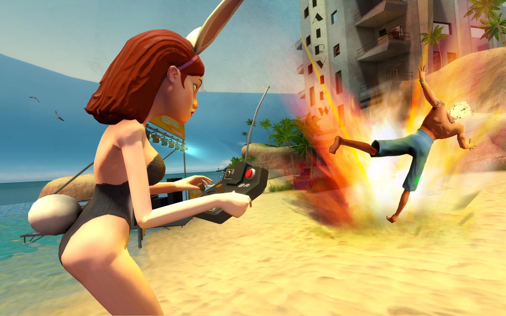 Multiplayerová FPS akce Bloody Good Time 15202
