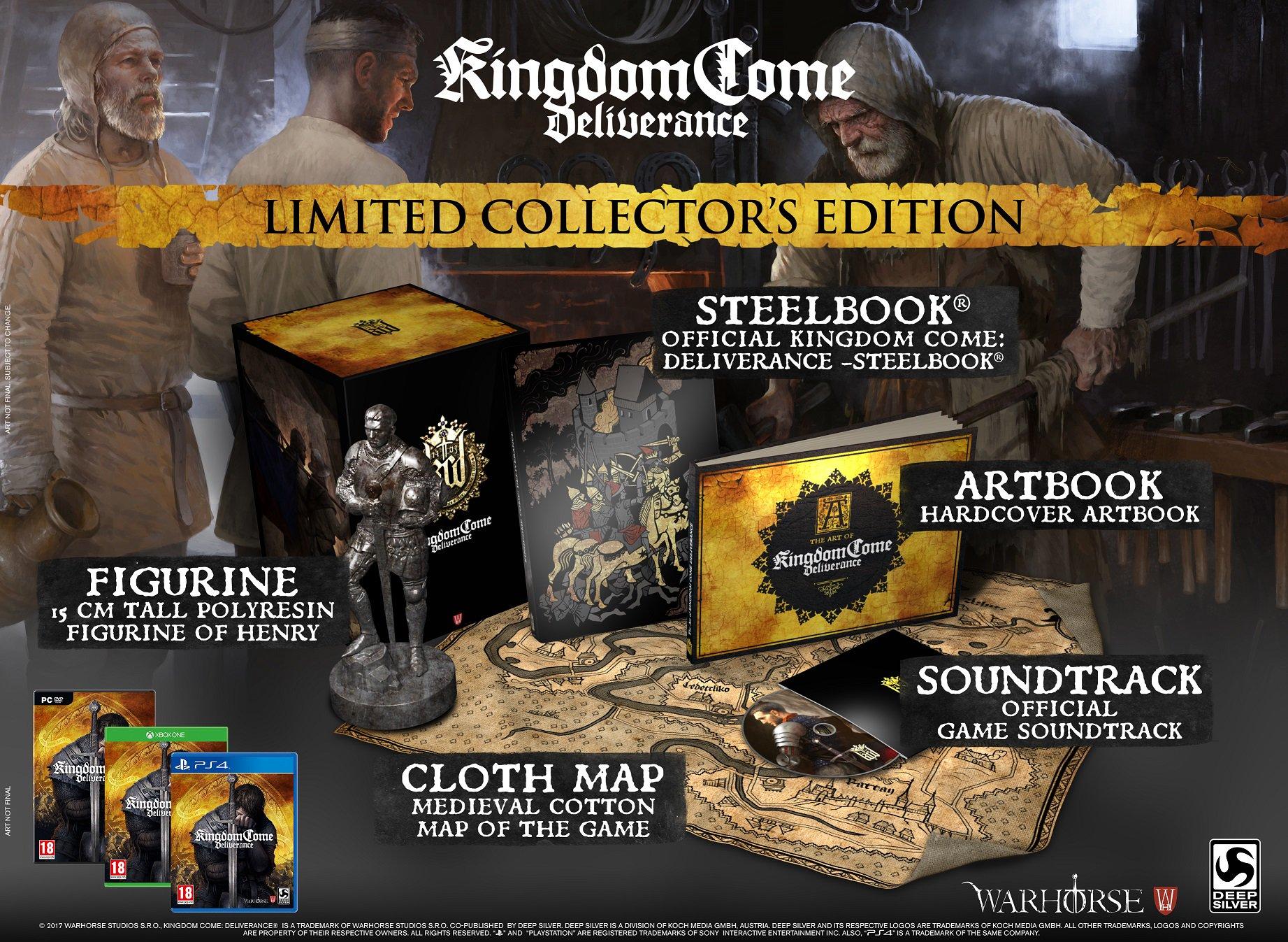Odhalena sběratelská edice Kingdom Come: Deliverance 152261