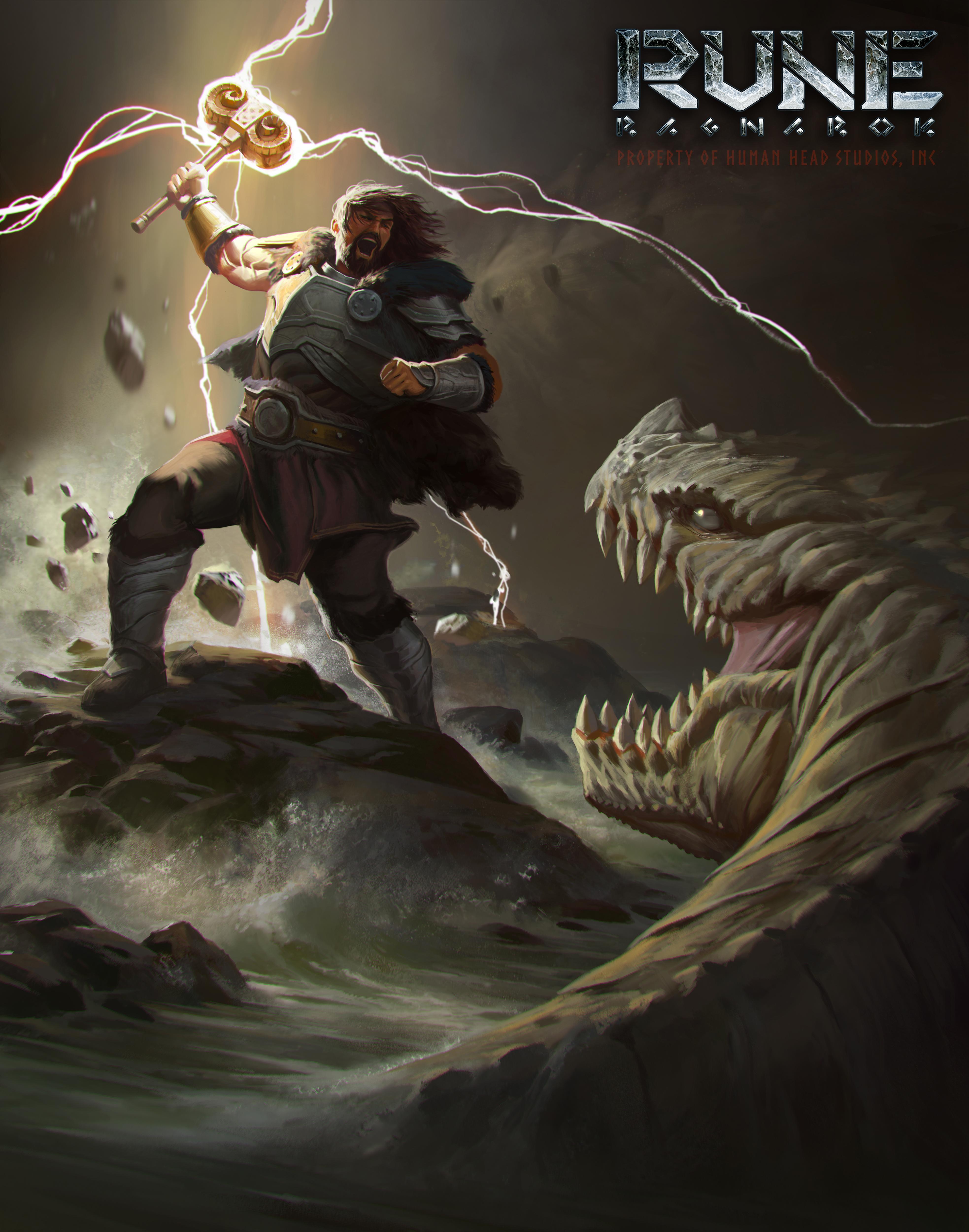 Severští bohové na konceptech Rune: Ragnarok 152297