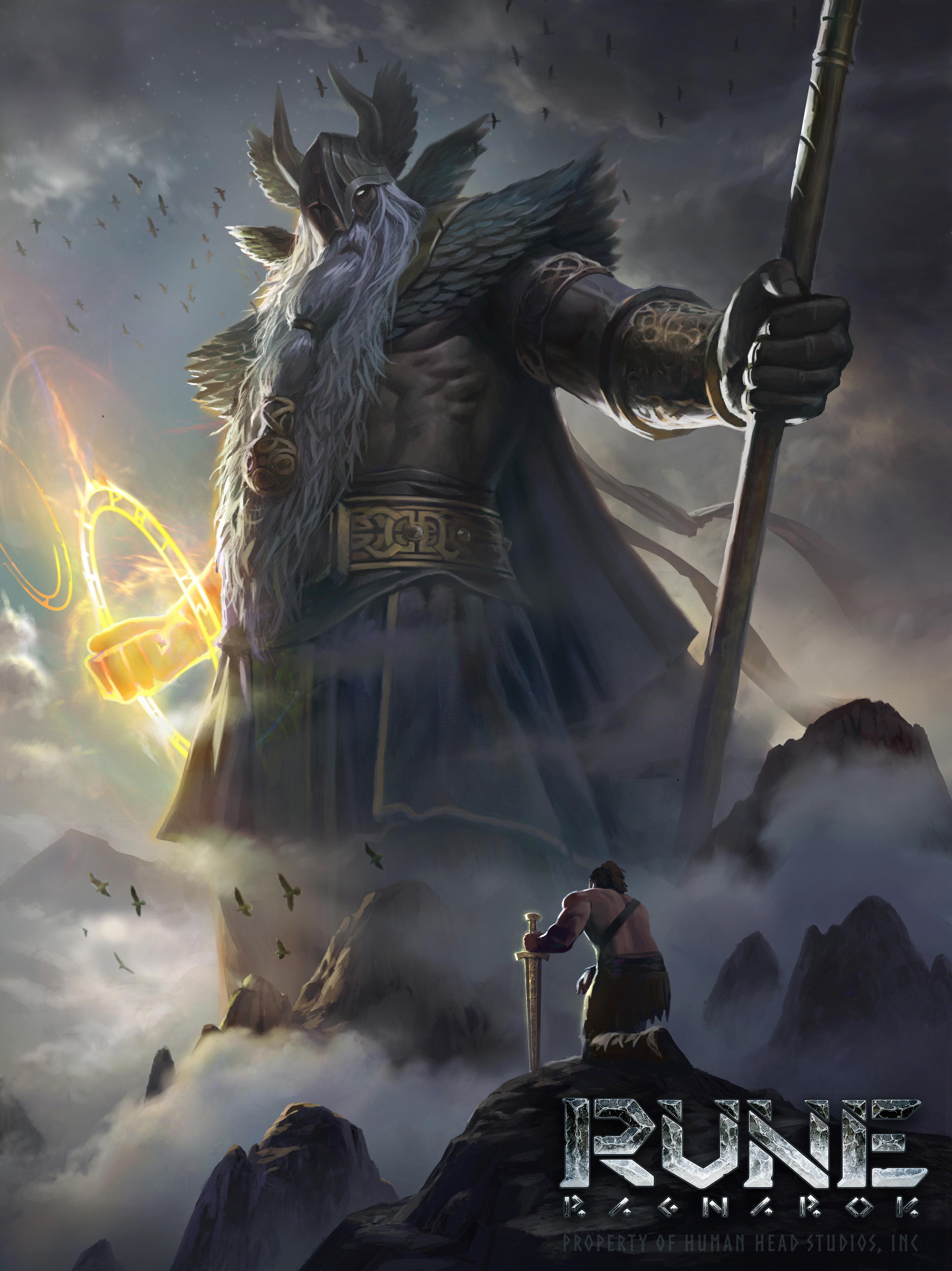 Severští bohové na konceptech Rune: Ragnarok 152298