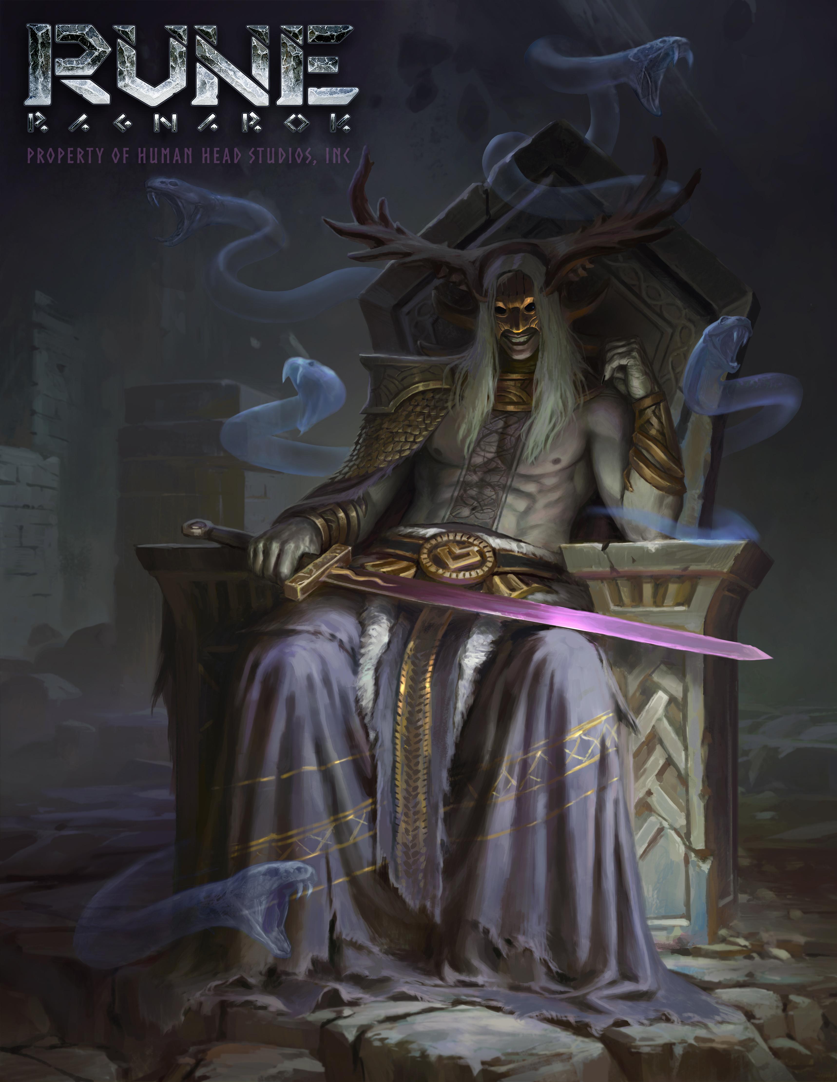 Severští bohové na konceptech Rune: Ragnarok 152299