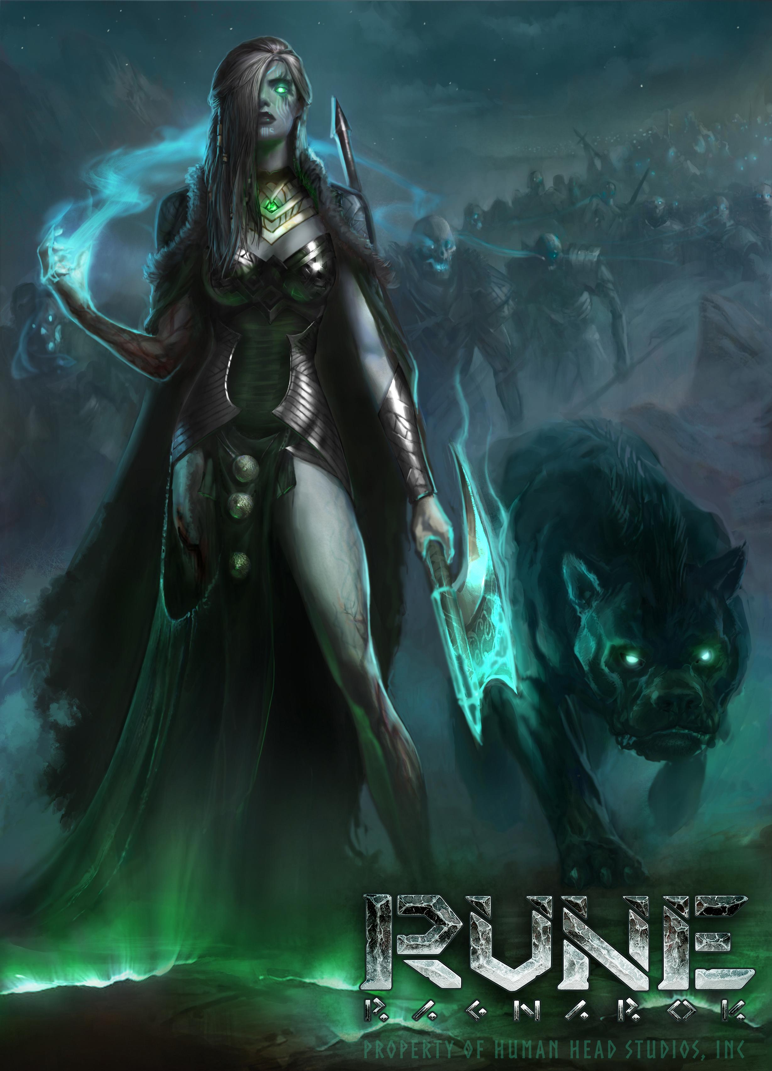 Severští bohové na konceptech Rune: Ragnarok 152300