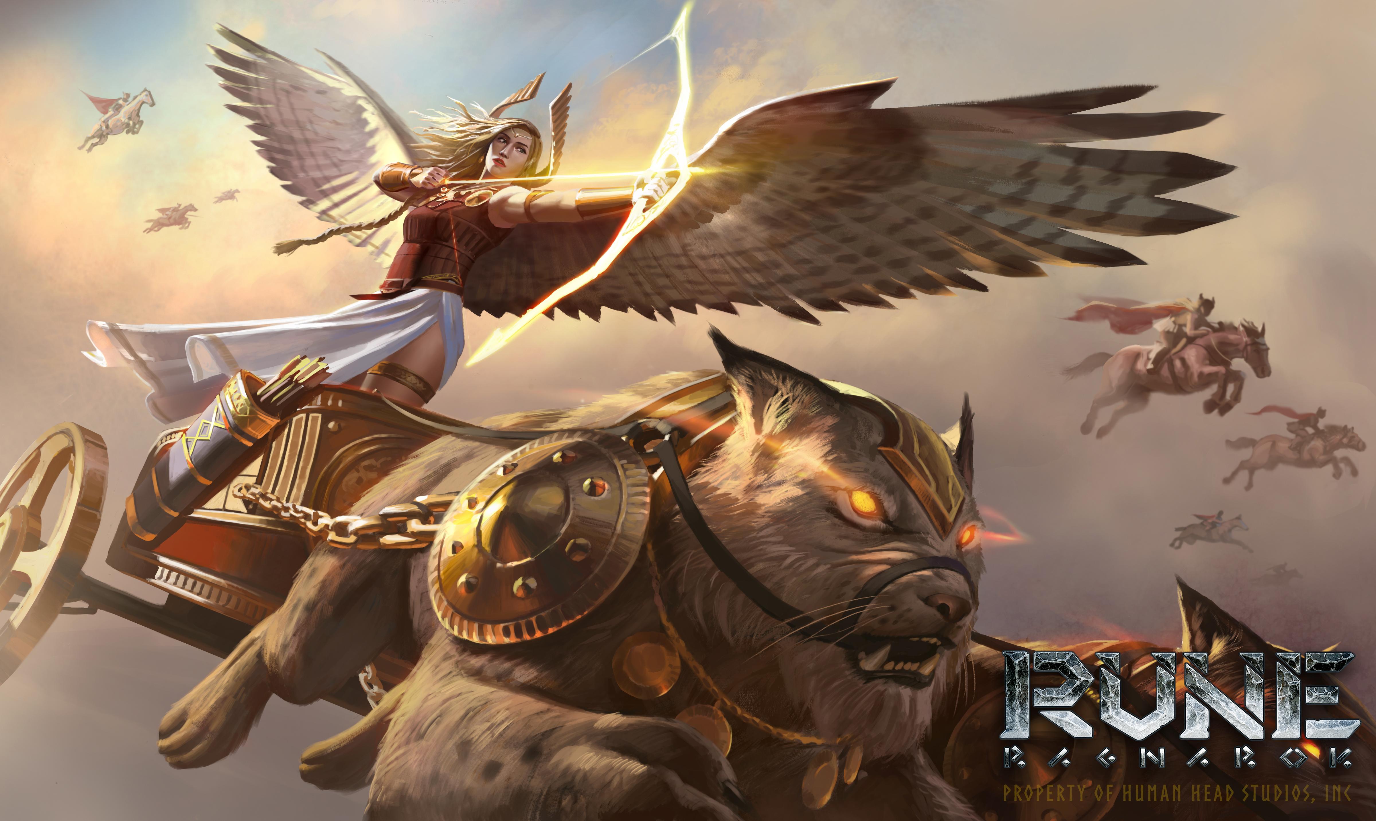 Severští bohové na konceptech Rune: Ragnarok 152301