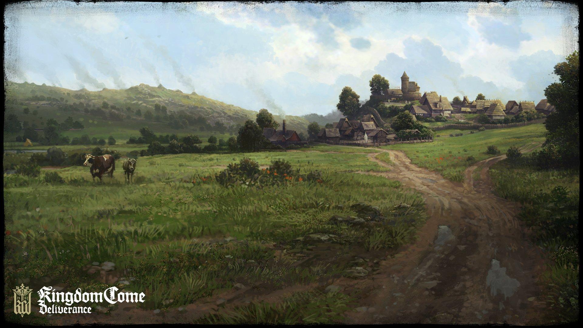 Koncepty ukazují nejen prostředí Kingdom Come: Deliverance 152756
