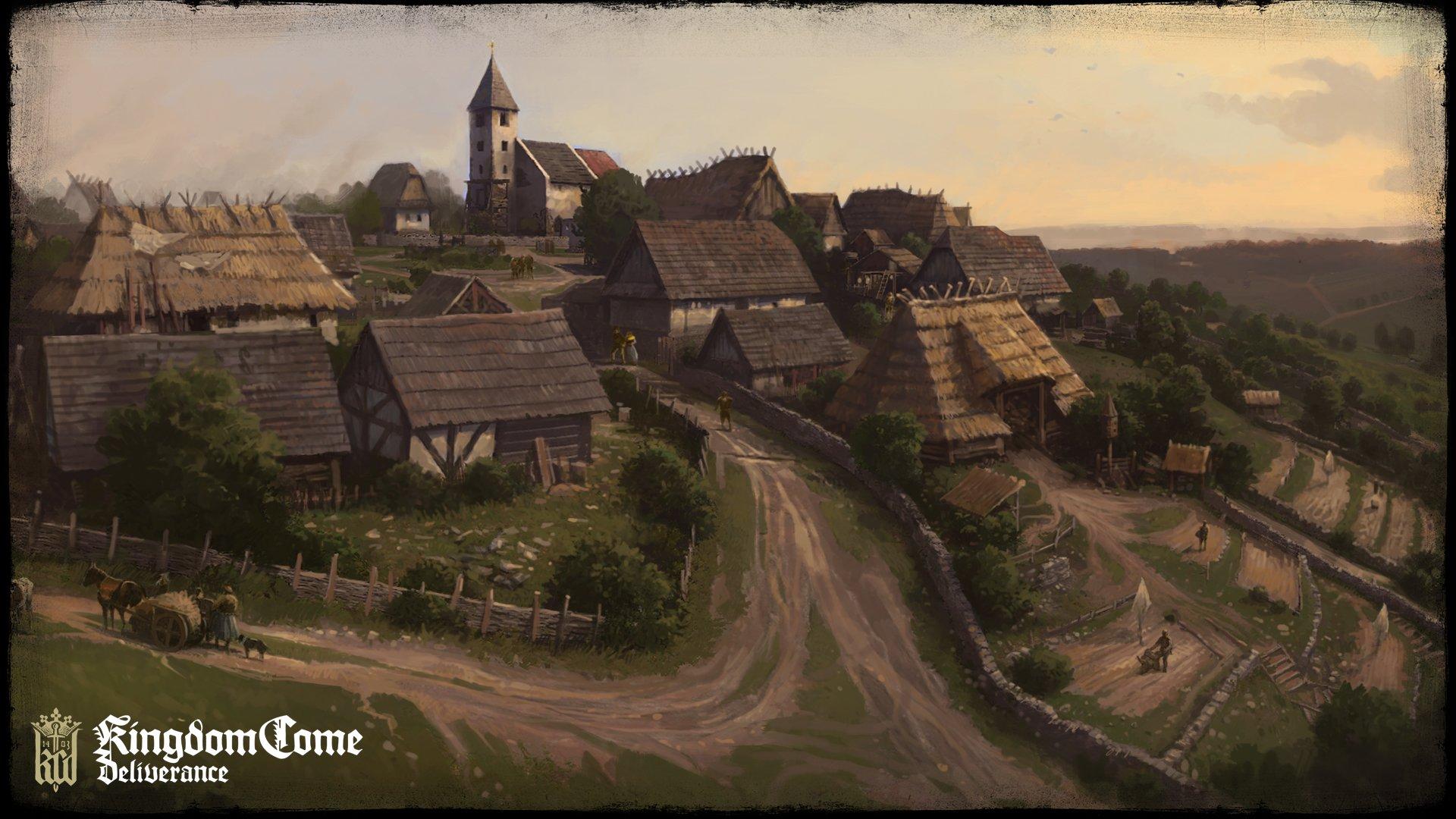 Koncepty ukazují nejen prostředí Kingdom Come: Deliverance 152758