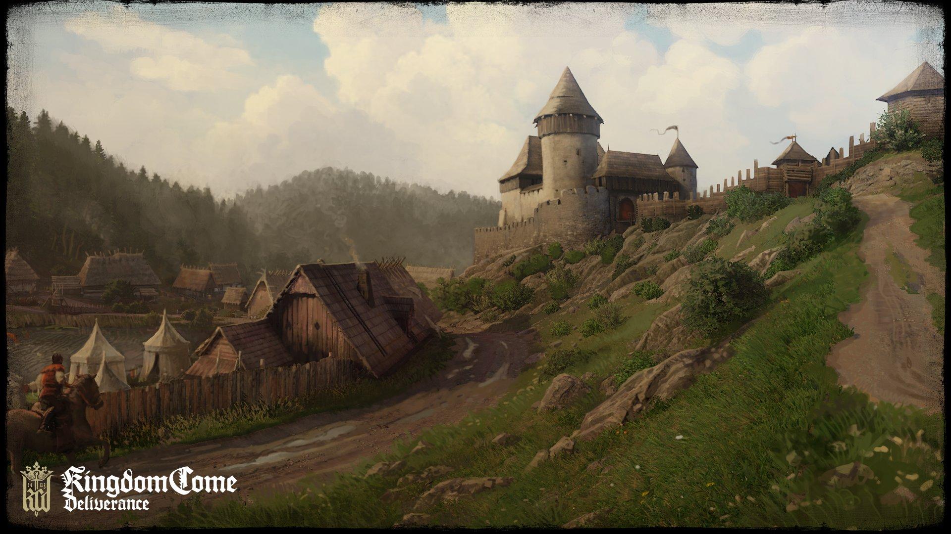 Koncepty ukazují nejen prostředí Kingdom Come: Deliverance 152759