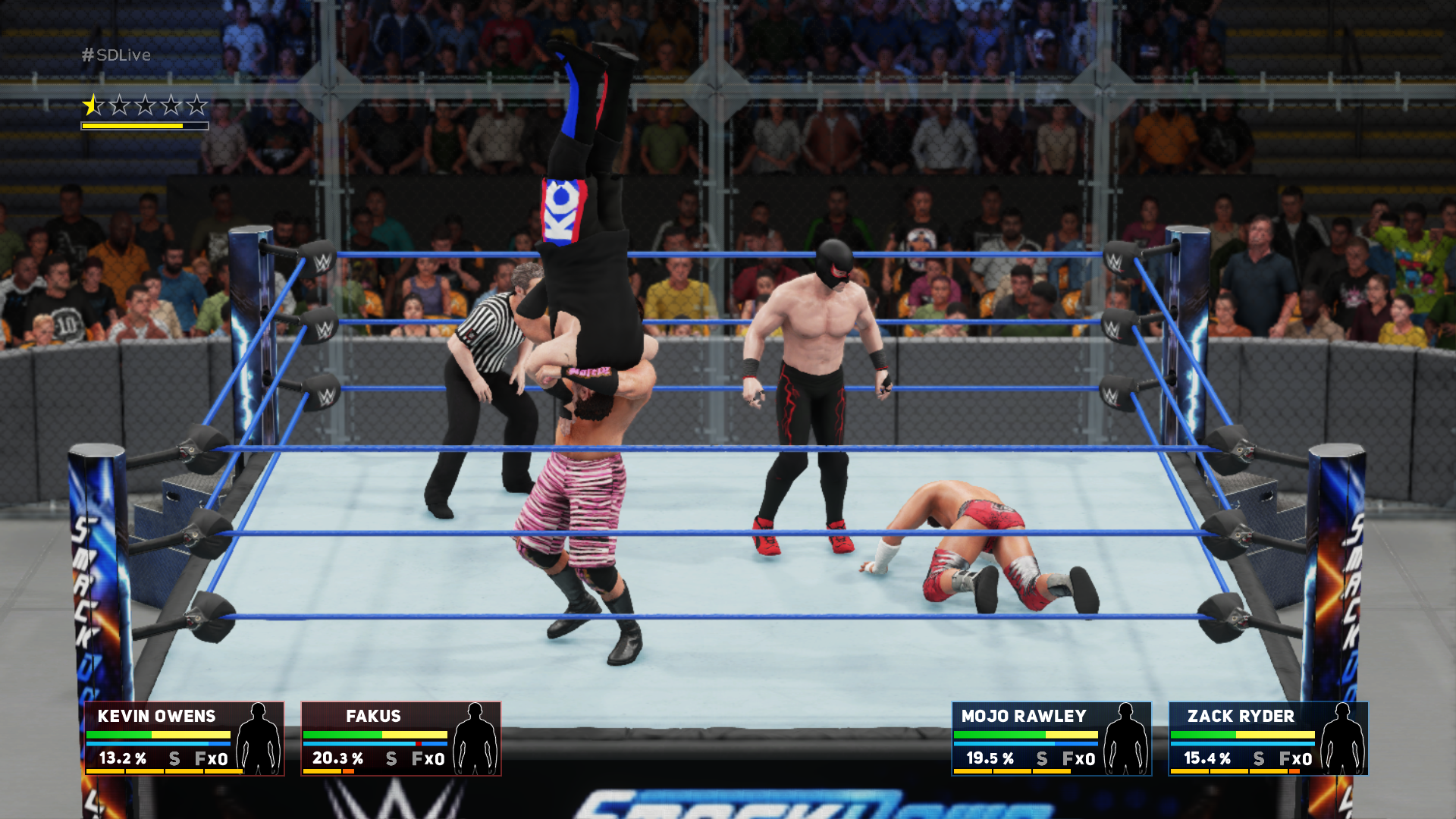WWE 2K18 – showmani v ringu 152802