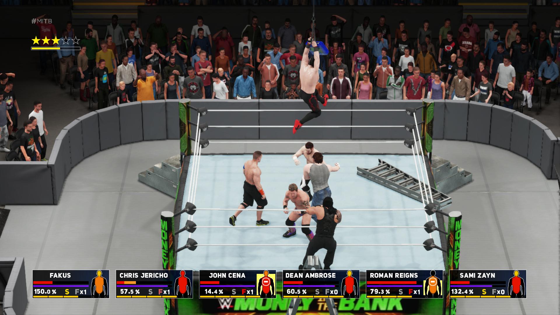 WWE 2K18 – showmani v ringu 152806