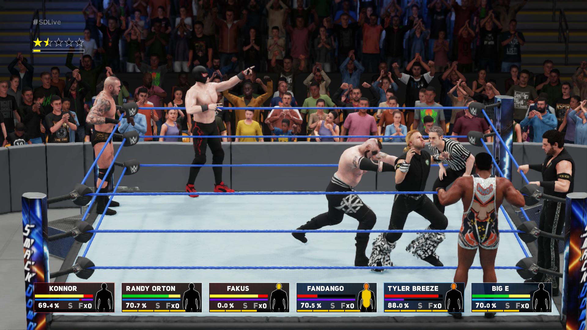 WWE 2K18 – showmani v ringu 152807