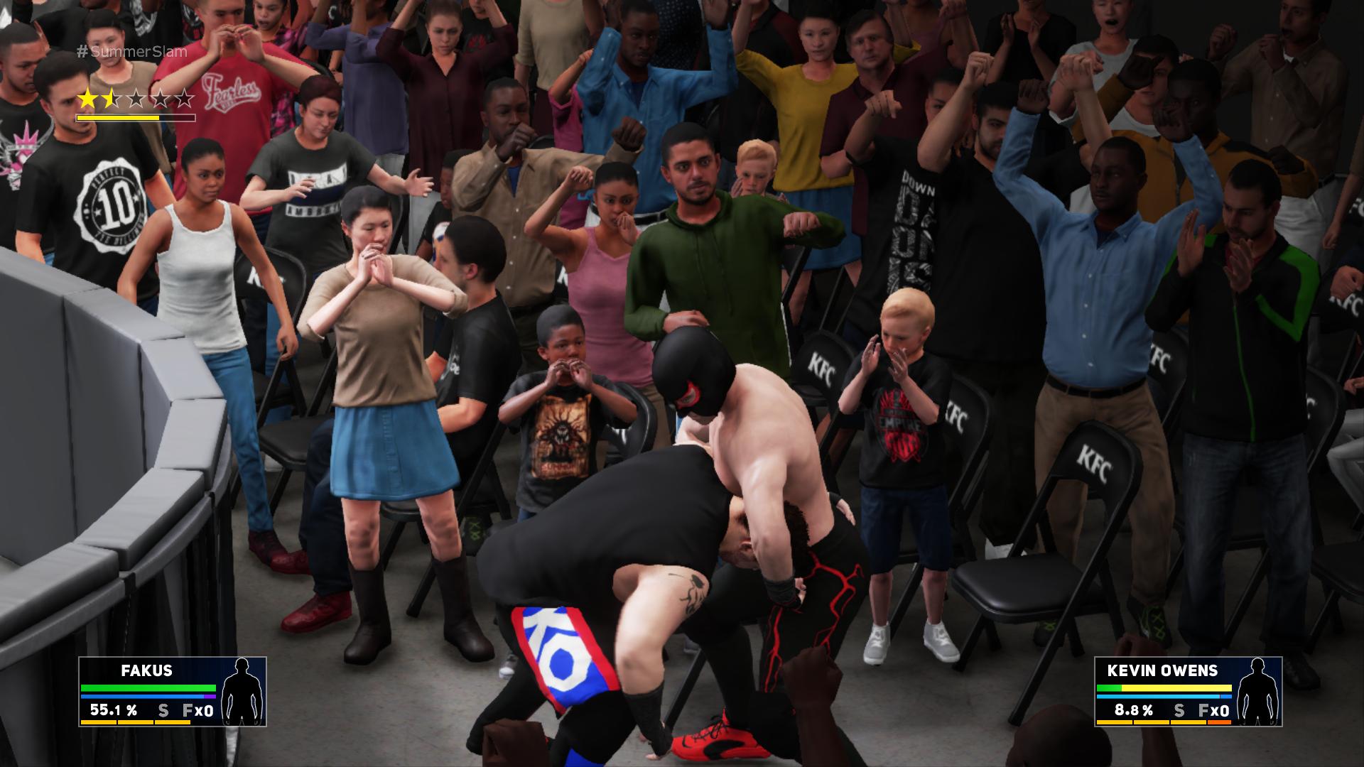WWE 2K18 – showmani v ringu 152809