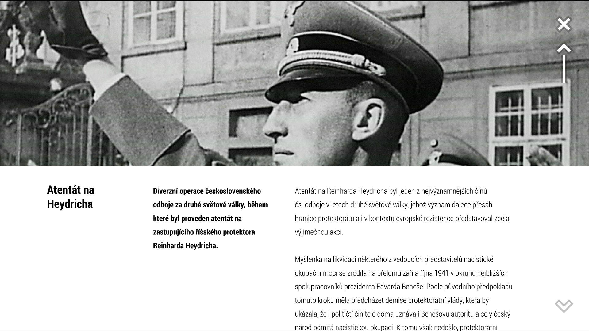 Attentat 1942 – lepší než učebnice 152857