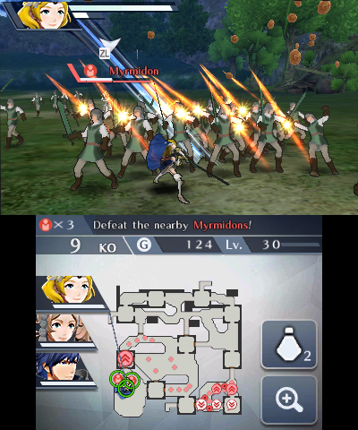 Fire Emblem Warriors - povedená grupka hrdinů 152880