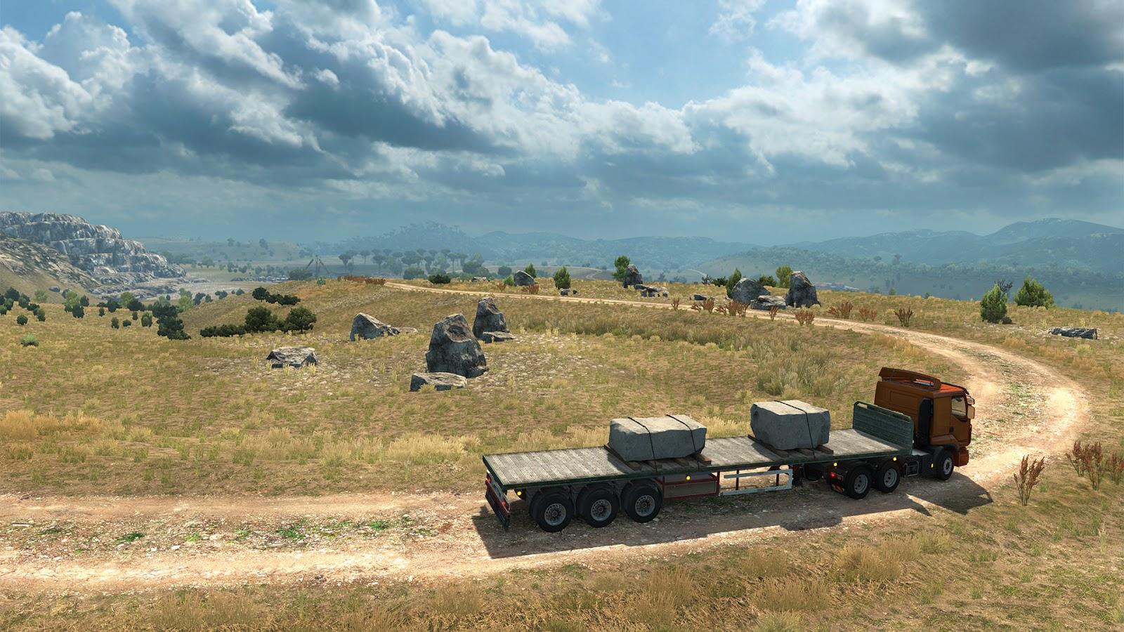 Sicílie na obrázcích z Euro Truck Simulatoru 2 152937