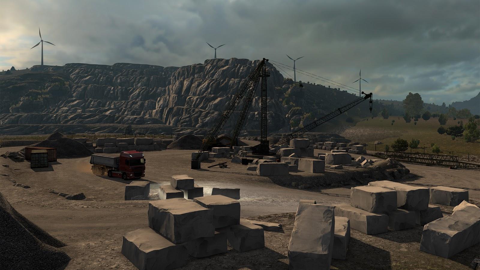 Sicílie na obrázcích z Euro Truck Simulatoru 2 152939