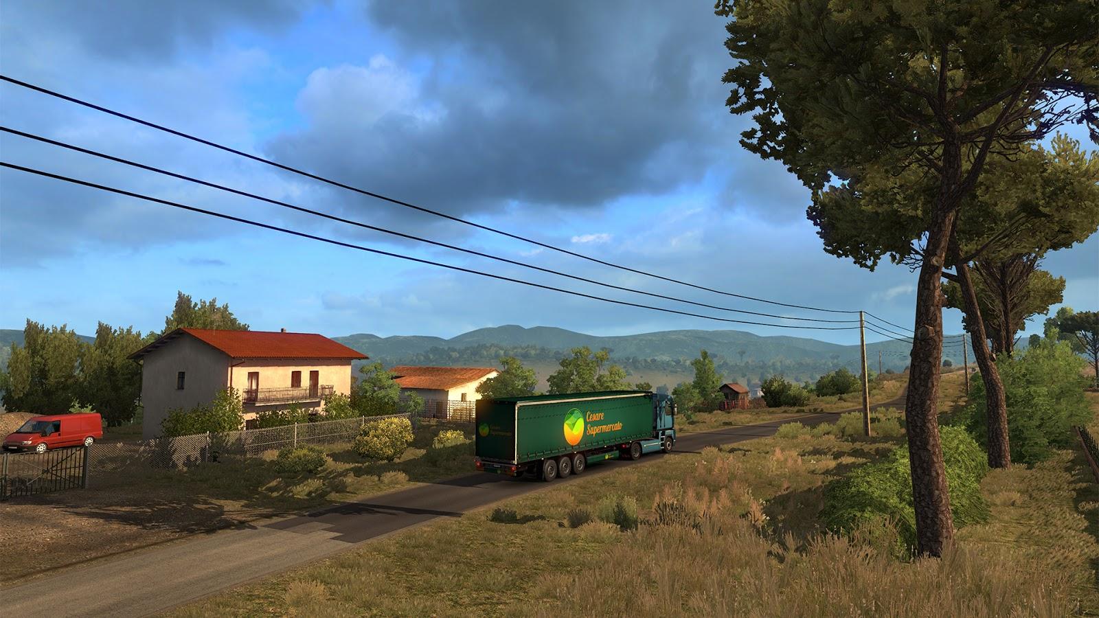 Sicílie na obrázcích z Euro Truck Simulatoru 2 152940