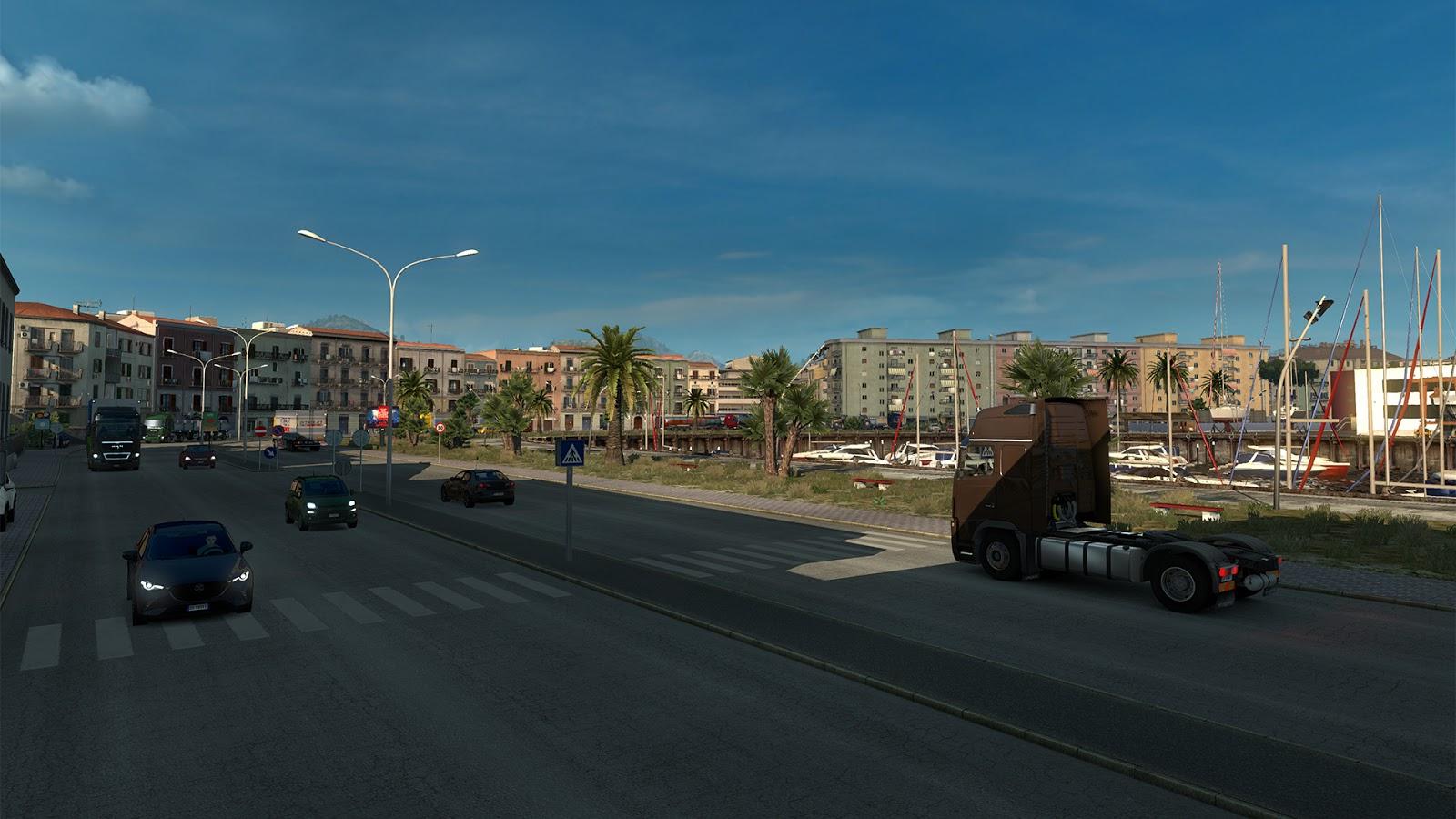 Sicílie na obrázcích z Euro Truck Simulatoru 2 152941