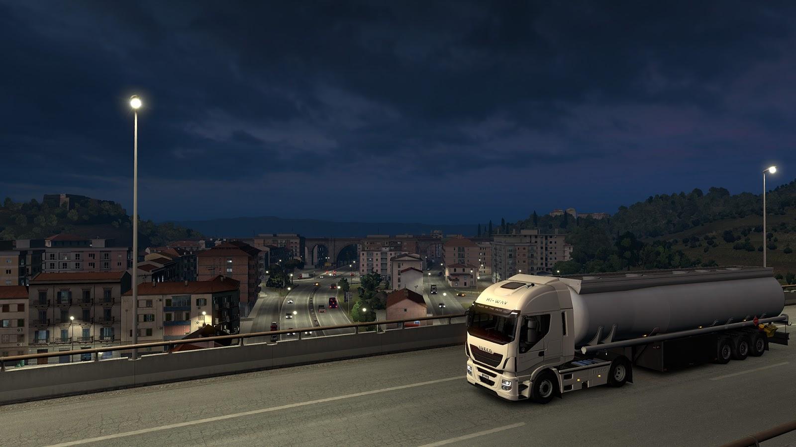 Sicílie na obrázcích z Euro Truck Simulatoru 2 152944