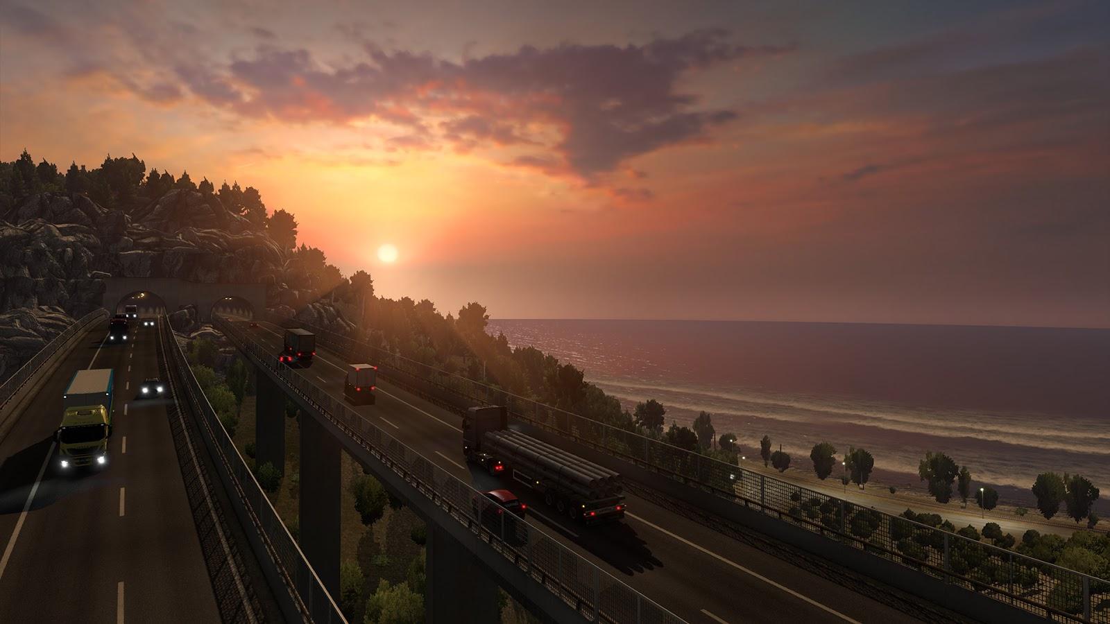 Sicílie na obrázcích z Euro Truck Simulatoru 2 152946