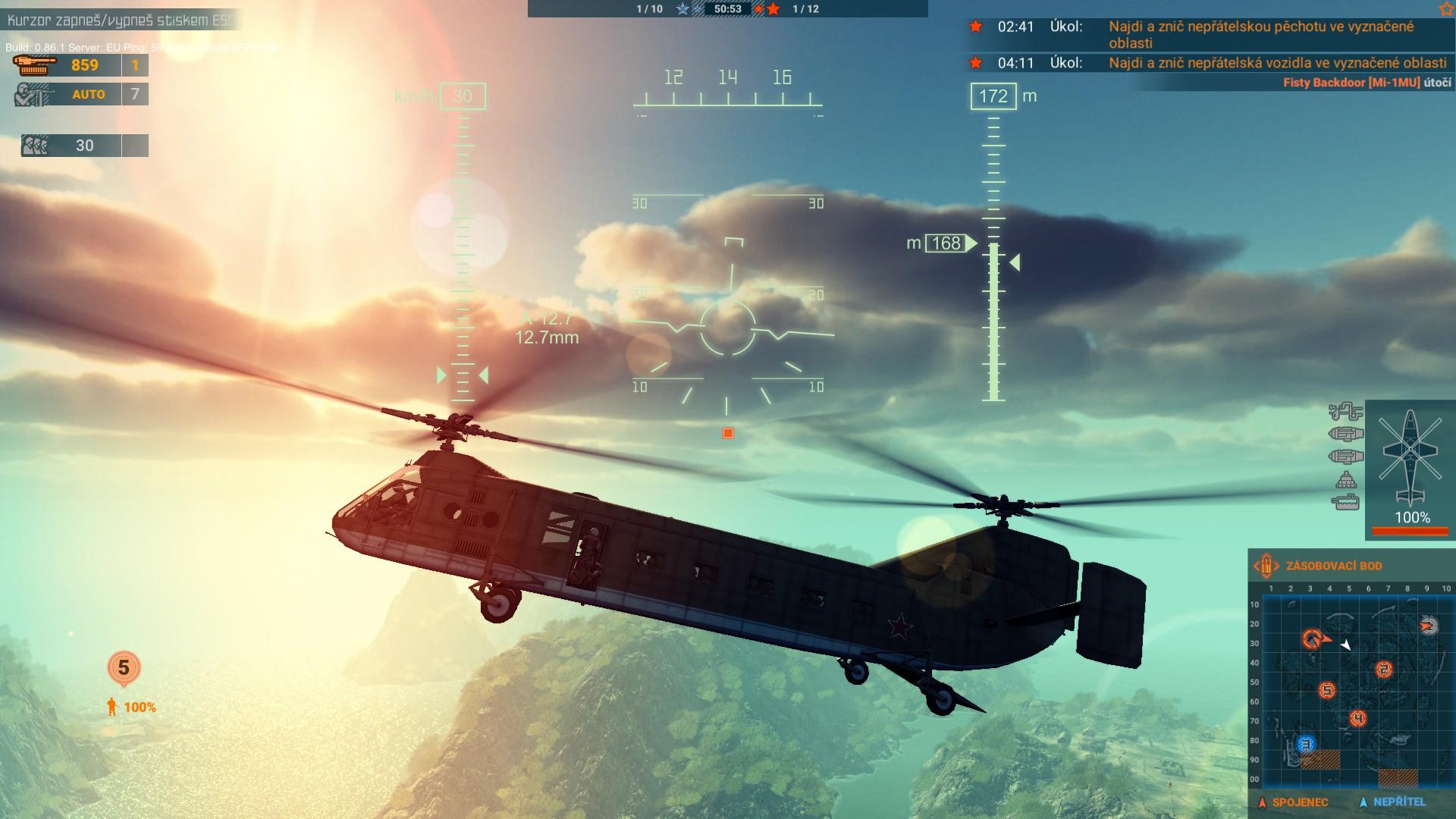 Heliborne - vrtulníky a rock 153001