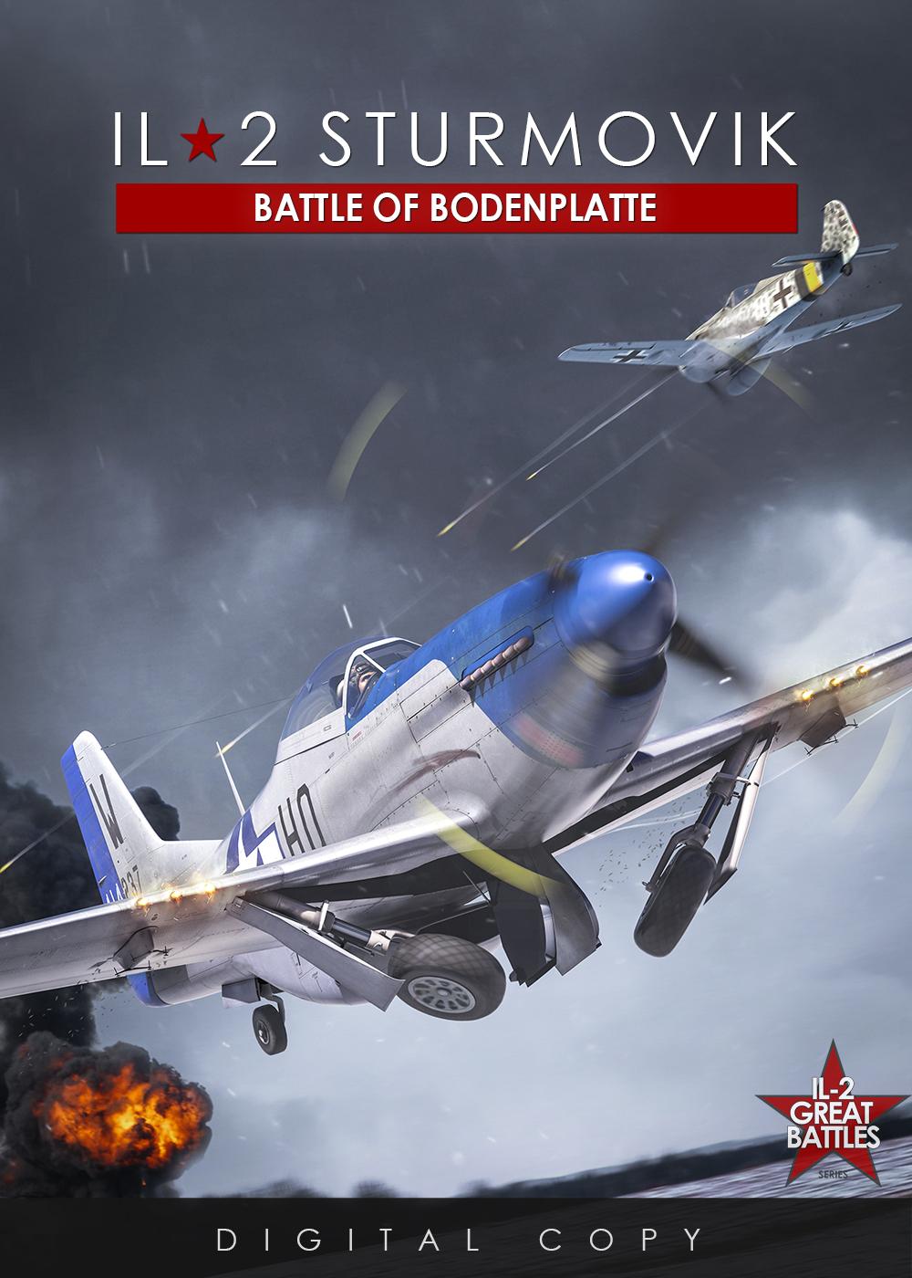 V 1C chystají hned tři letecké akce IL-2 Sturmovik 153048