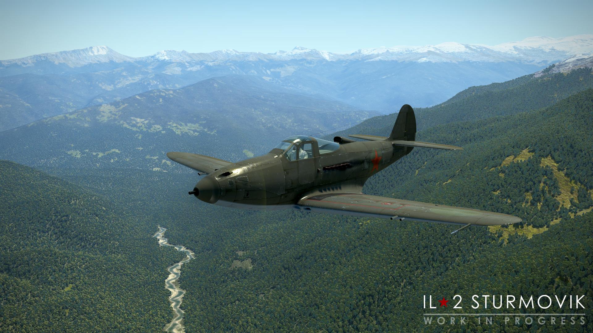 V 1C chystají hned tři letecké akce IL-2 Sturmovik 153052