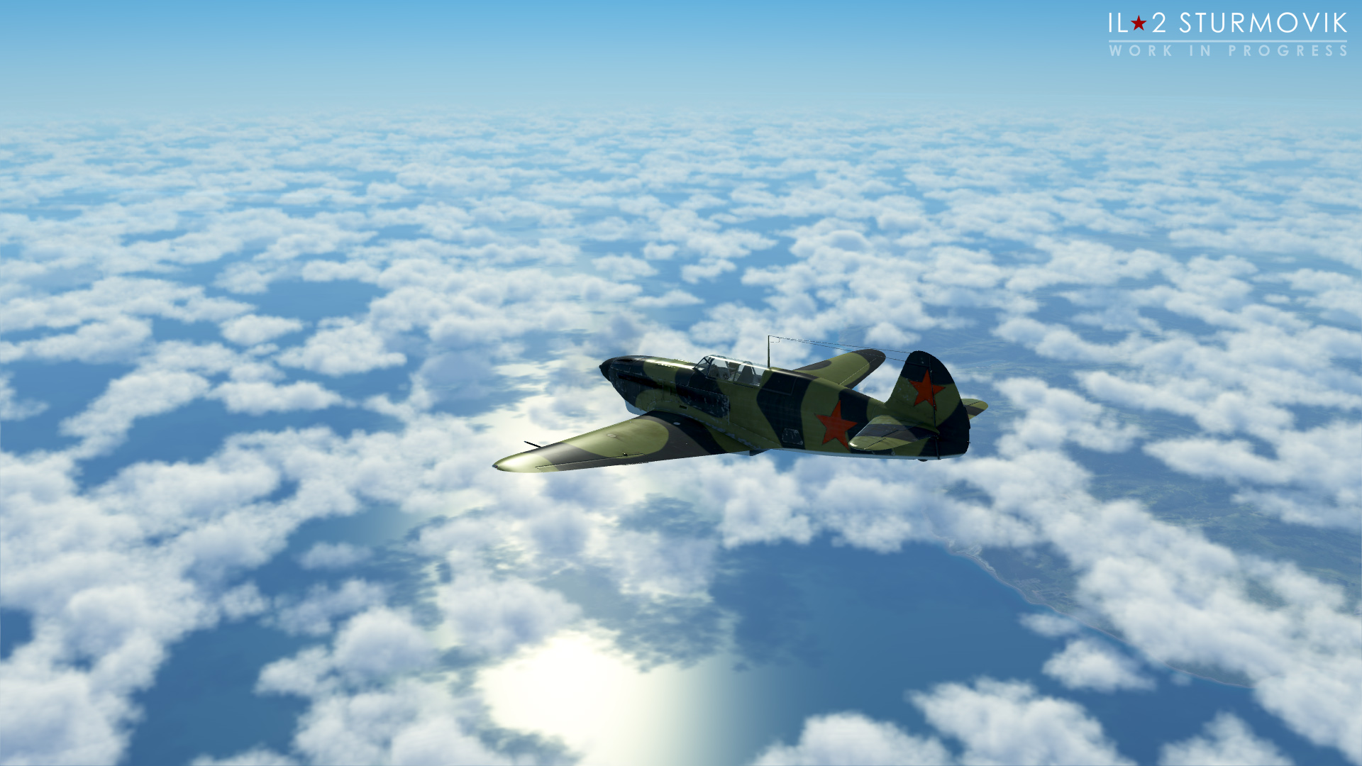 V 1C chystají hned tři letecké akce IL-2 Sturmovik 153056