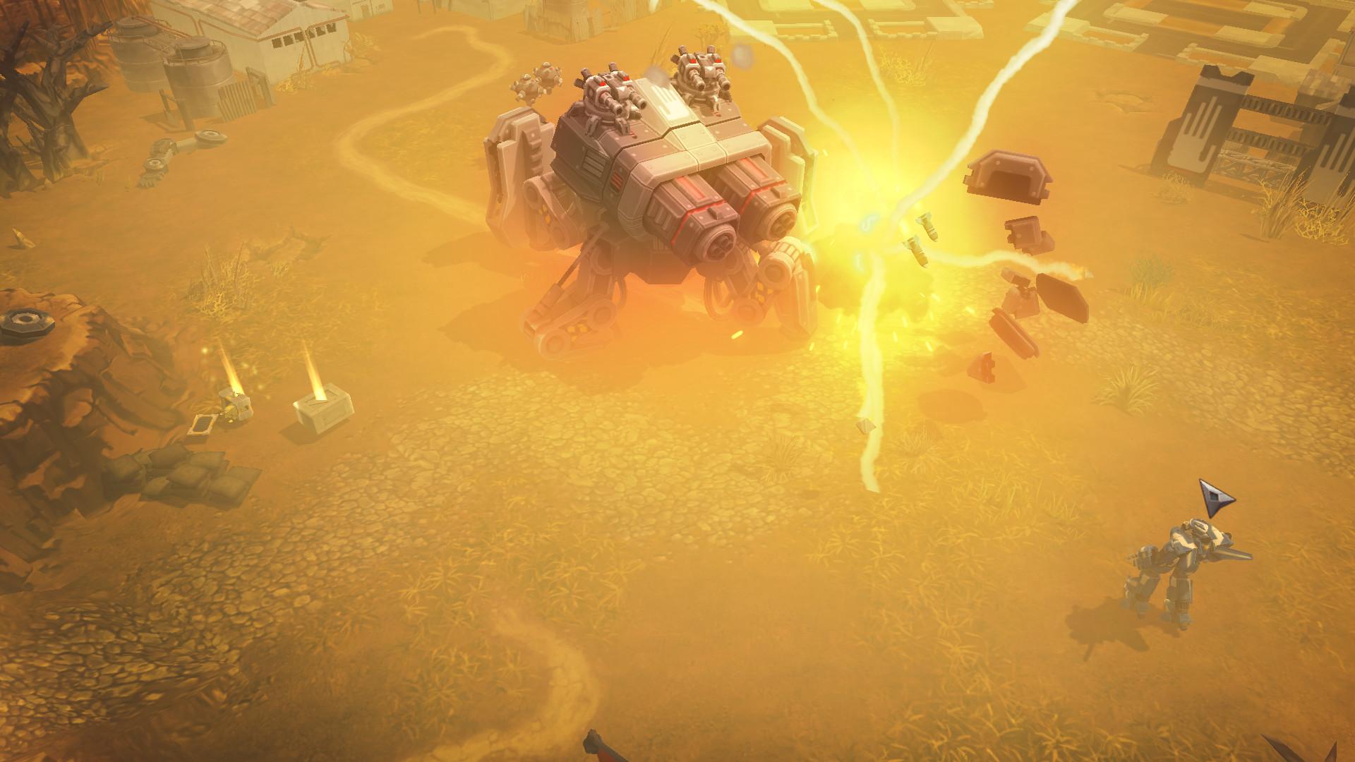 AirMech Wastelands je akční RPG s důrazem na strategické prvky 153283