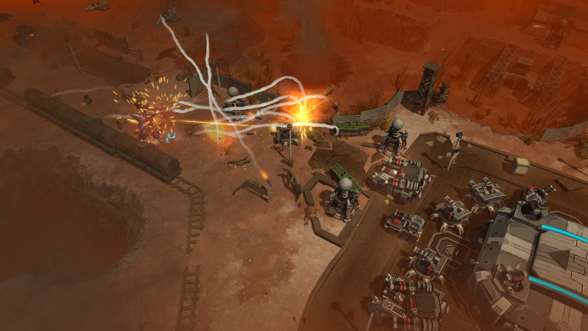 AirMech Wastelands je akční RPG s důrazem na strategické prvky 153284