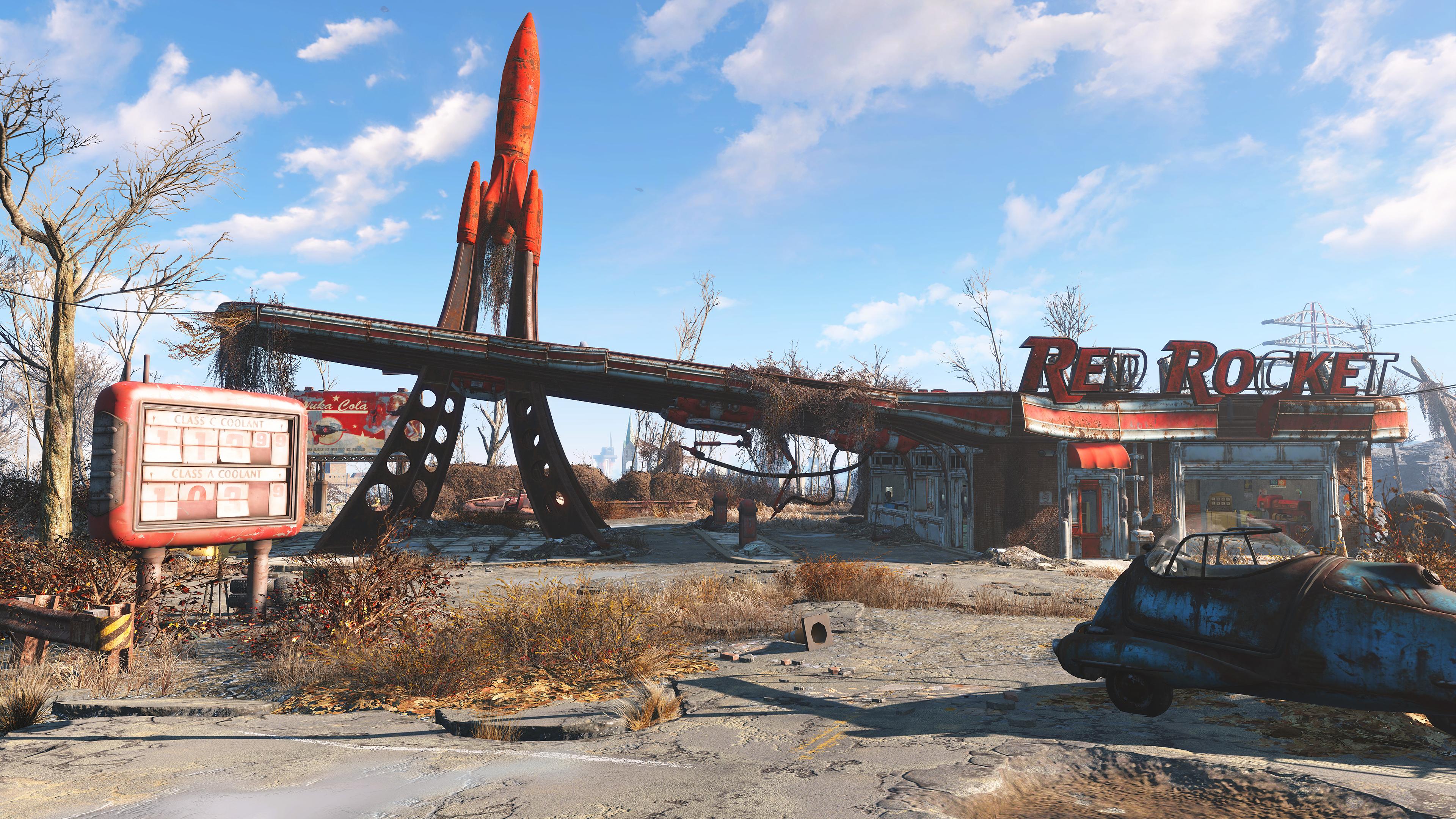 Fallout 4 a Skyrim Special Edition s podporou Xboxu One X 153289