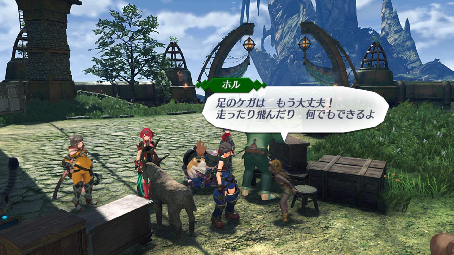 Magie a mechanická vylepšení v příběhovém traileru ke Xenoblade Chronicles 2 153397