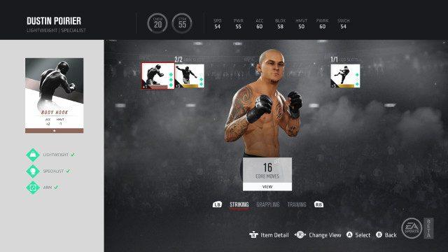 V betě UFC 3 jsou pay-to-win mikrotransakce 153426