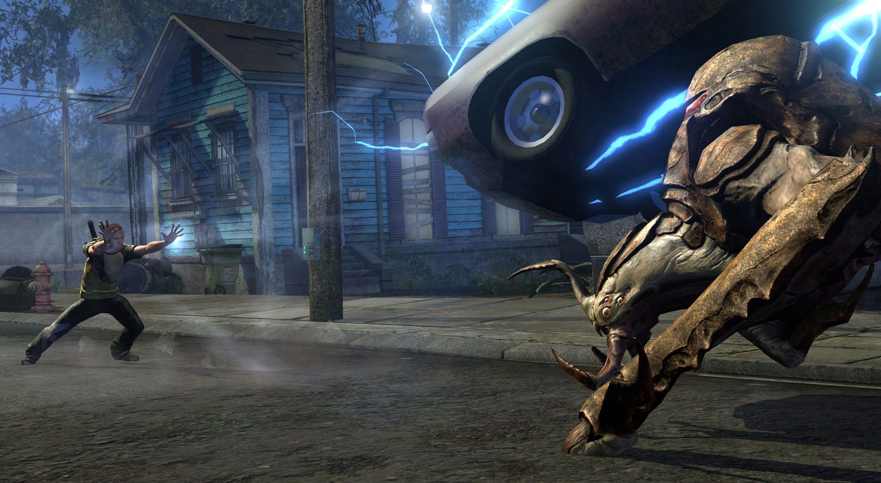 inFamous 2 – gameplay video a galerie 15348