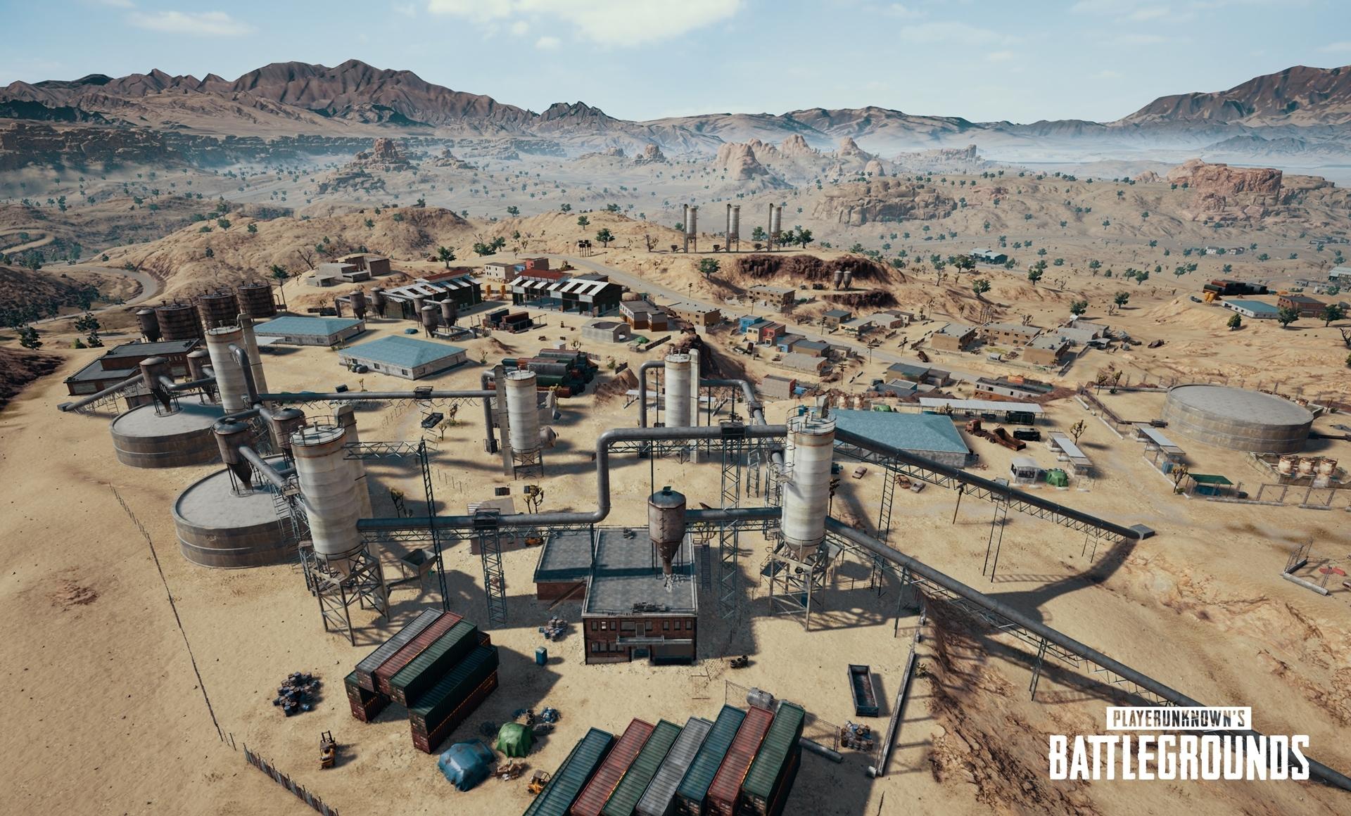 Seznamte se s pouštní mapou PUBG 153629
