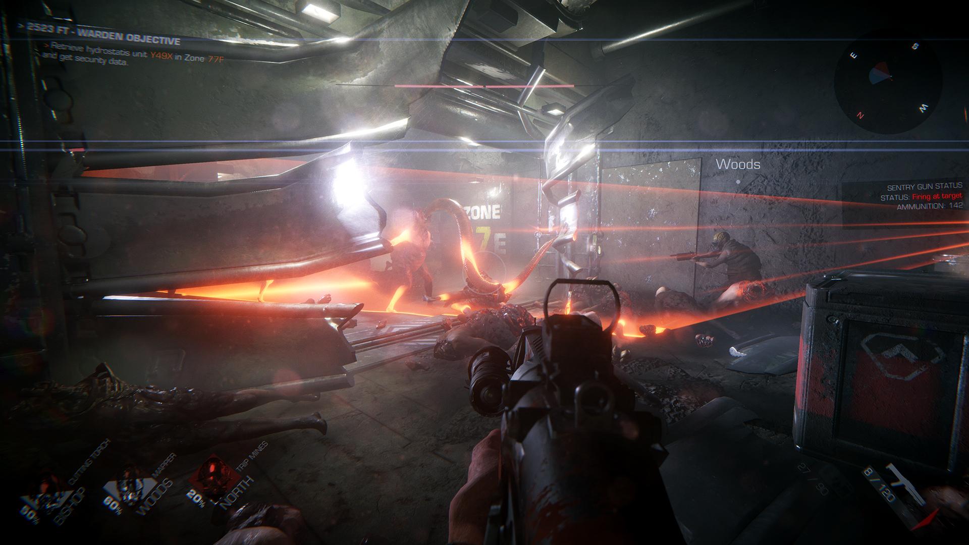 Kooperační střílečka GTFO kombinuje PayDay, Alien a Killing Floor 153704