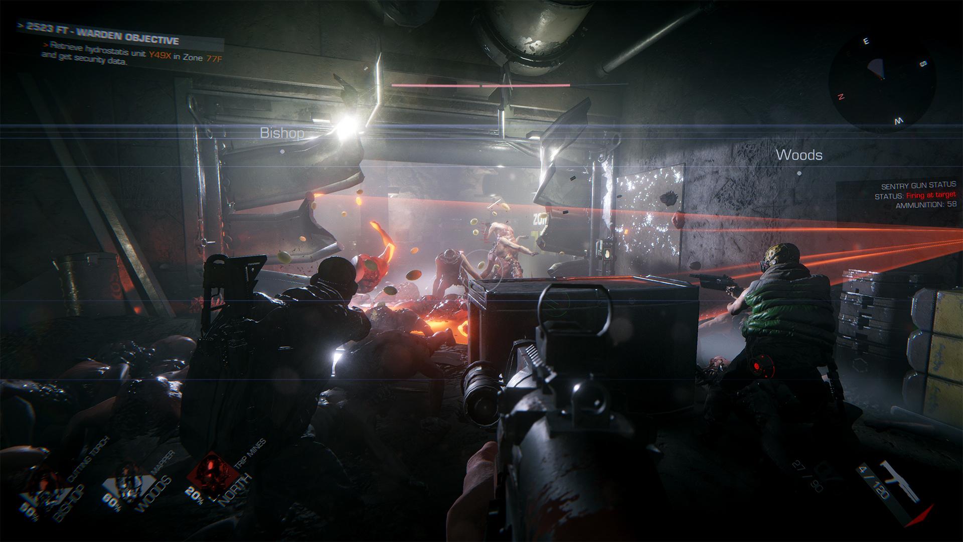 Kooperační střílečka GTFO kombinuje PayDay, Alien a Killing Floor 153705